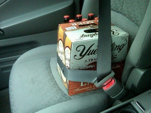 beer buckle up children funny safety first after 12 g rated