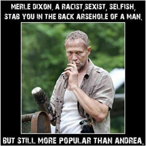 andrea The Walking Dead merle dixon - 8343669504