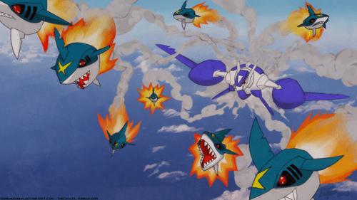 Fan Art Pokémon sharpedo mega evolutions - 8343769600
