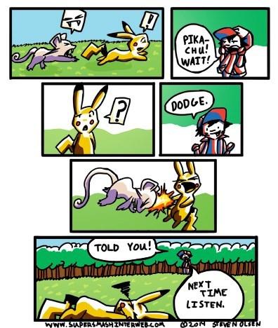 Pokémon,pikachu,web comics