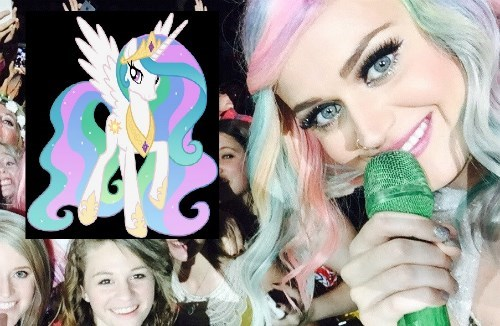 princess celestia,katy perry,glorious mane