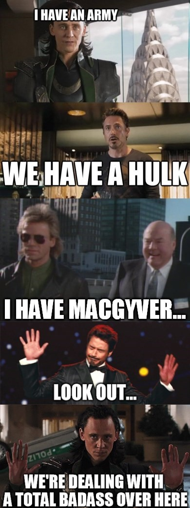 loki macgyver avengers - 8343938816