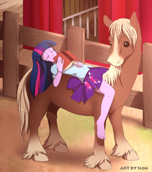 horse Fan Art twilight sparkle - 8344615680