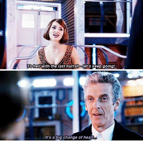 12th Doctor foxes clara oswin oswald - 8344913920