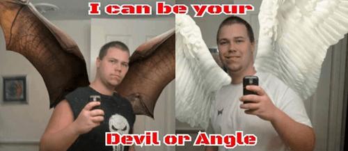 angle angels selfie - 8345163008