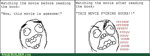 rage,movies,books