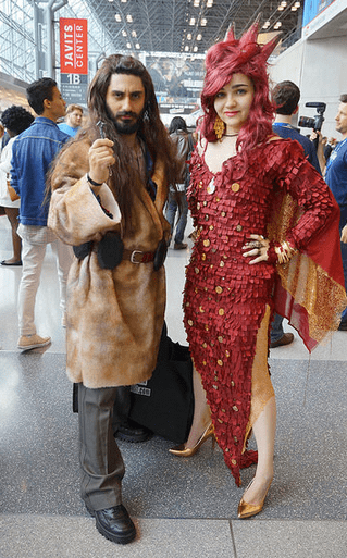 cosplay The Hobbit NYCC