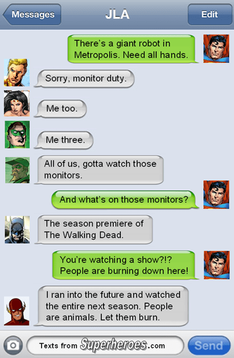 justice league batman The Walking Dead - 8345769728