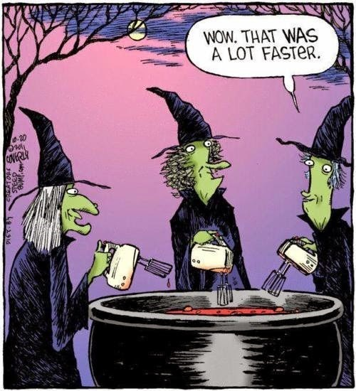 halloween Witches blenders web comics - 8345979904