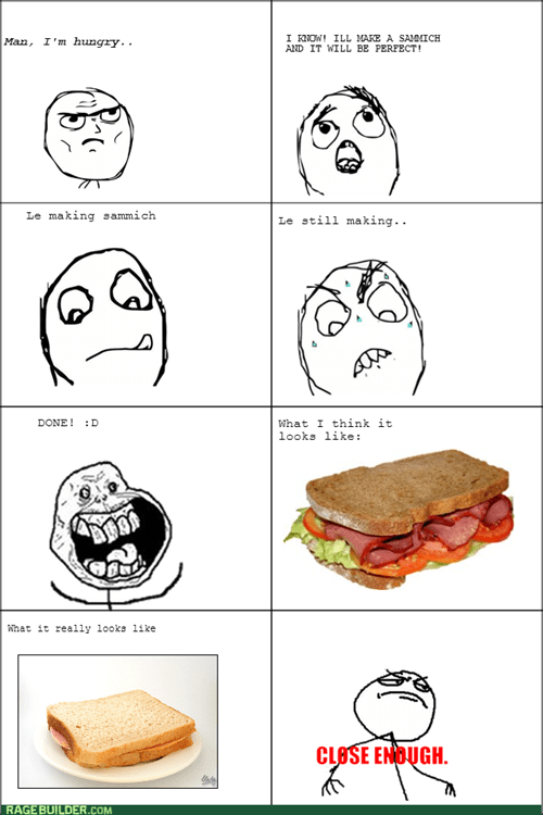Close Enough sandwich - 8346034176