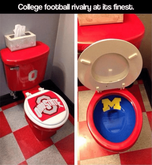 college football,college,michigan,ohio state,rivalries