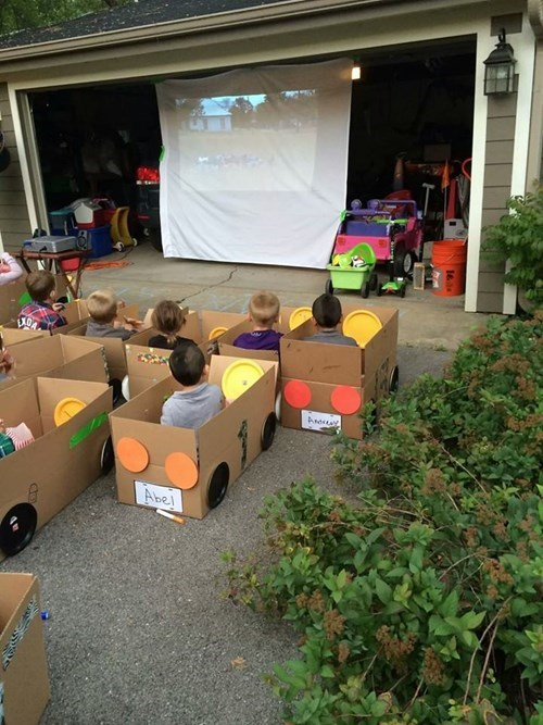 kids movies parenting Party drive in g rated