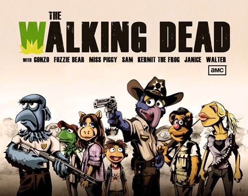 muppets The Walking Dead - 8346461952