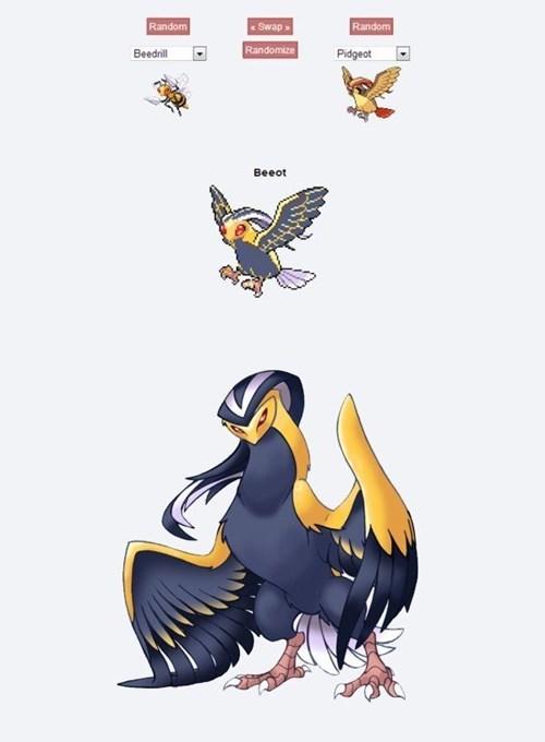 beedrill Pokémon pokemon fusion pidgeot mega evolutions - 8346515968