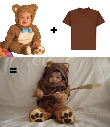 baby costume halloween ewok star wars parenting g rated - 8346582784
