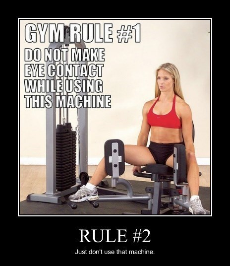 memes gym exercise eye contact funny