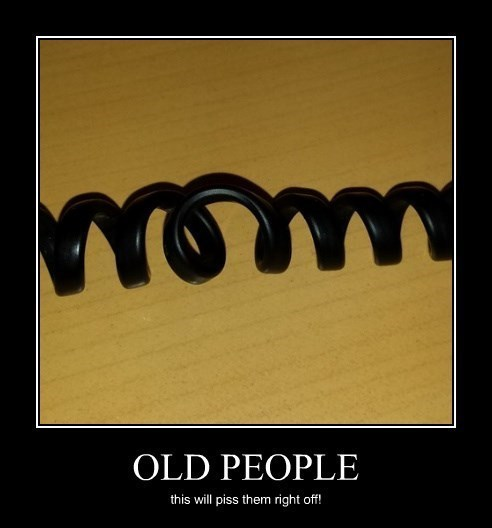 phone cord,hate,funny,old people