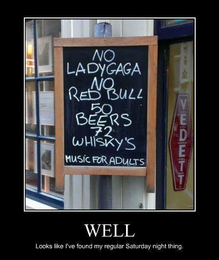 memes awesome bar funny sign pub - 8346589440