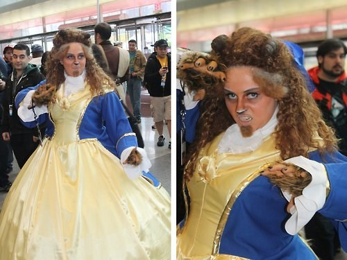 cosplay Beauty and the Beast disney - 8346653696