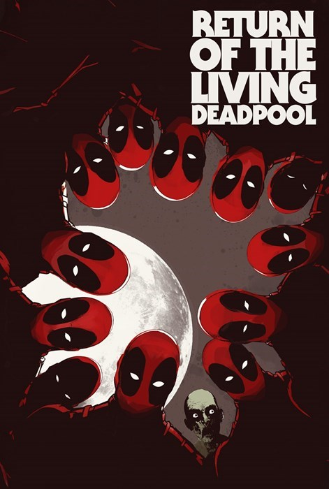 deadpool Straight off the Page zombie - 8346731776