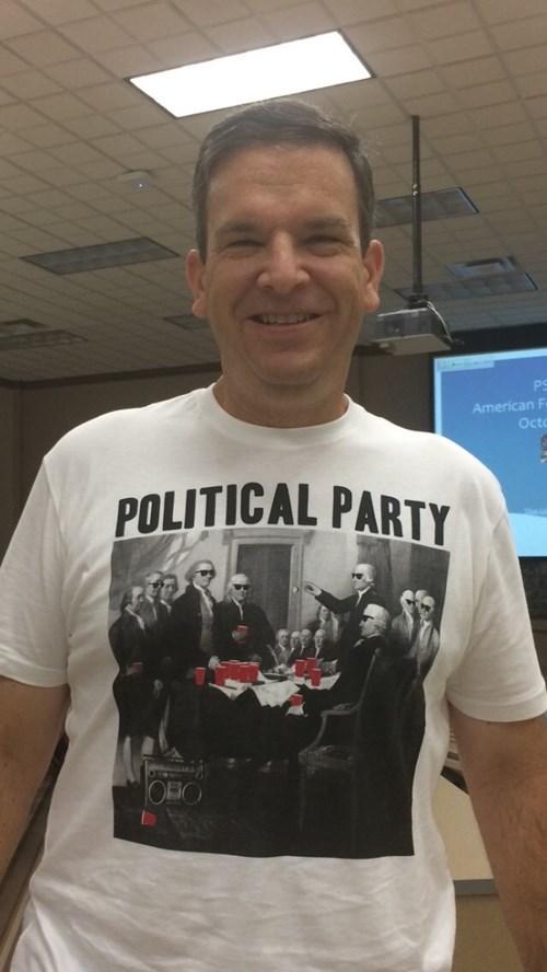 george washington political party tshirts - 8346909952