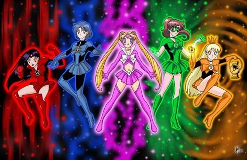 comics geek crossover guardians of the galaxy Fan Art sailor moon - 8346943744