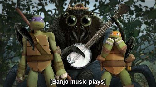 comics entertainment TMNT banjo deliverance - 8347215104