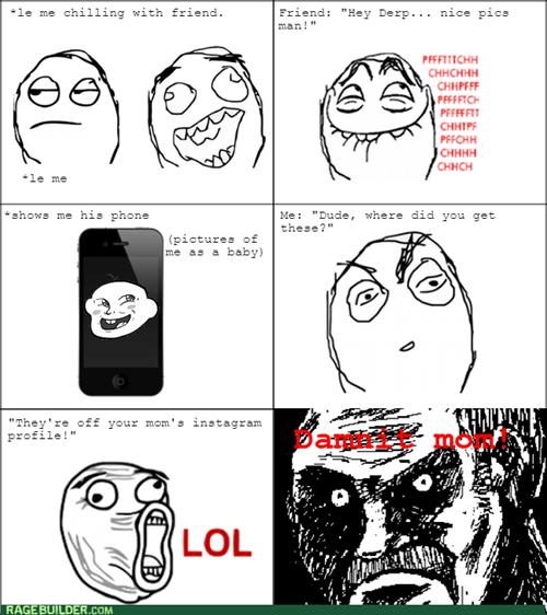 comics entertainment rage instagram phone mom - 8347310848