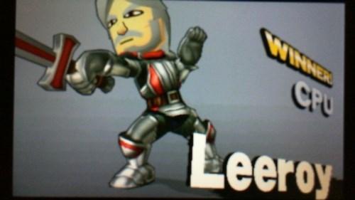 Fictional character - WINNER CPU Leeroy