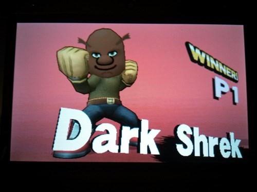 Cartoon - WINNER PI Dark Shrek