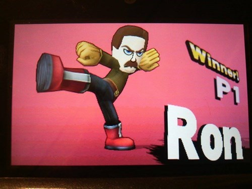 Cartoon - Winned PI Ron
