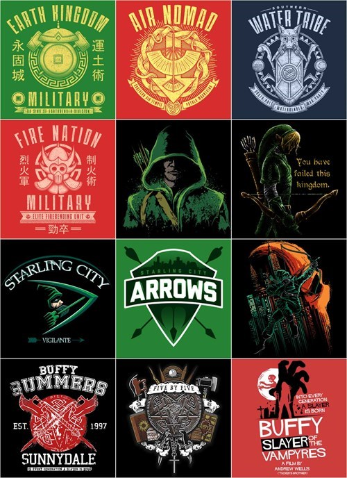 geek for sale green arrow Avatar once upon a tee - 8347459328
