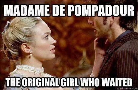 girl who waited 10th doctor madame du pompadour - 8347536896