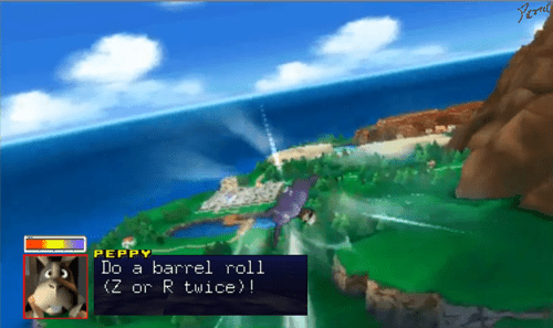 crossover Pokémon Star Fox ORAS peppy do a barrel roll - 8347579648