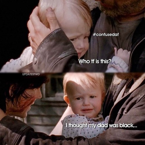 judith grimes,parenting