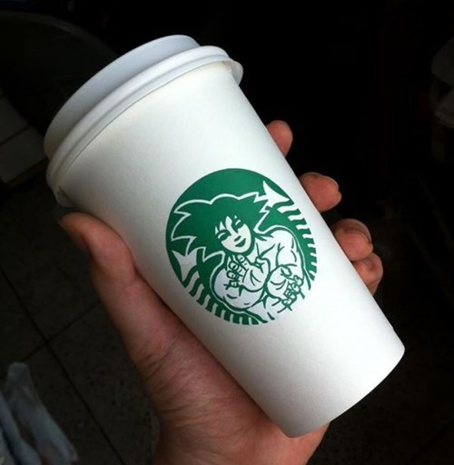 dragonball z coffee hacked irl - 8347705088