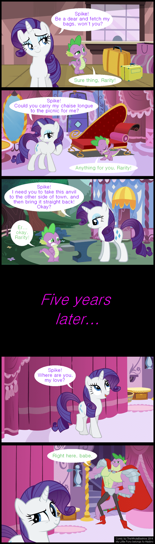 Rarity Gets What She Wants
