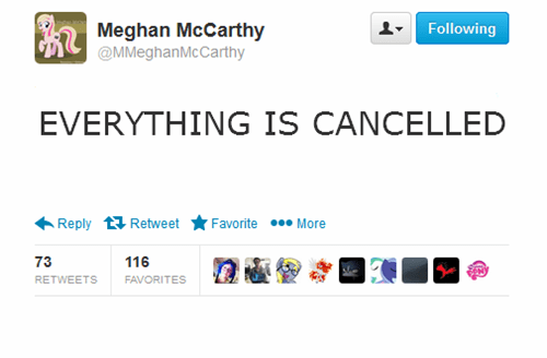 tv geek entertainment twitter canceled meghan mccarthy - 8348044288