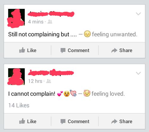 complaining,drama,irony