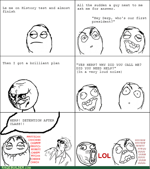 school,cheating,burn
