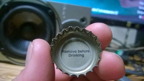 fails beer bottle cap funny - 8348375808