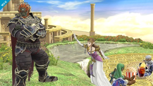 video games super smash bros Ganondorf - 8348631808