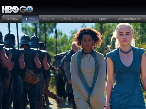 streaming news hbo HBO go