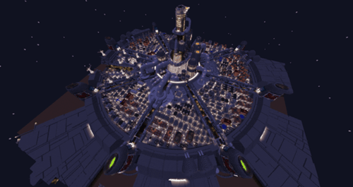 final fantasy midgar minecraft final fantasy VII fanmade