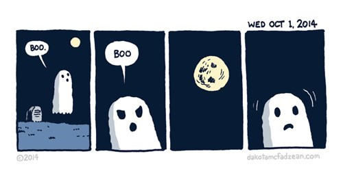 halloween,moon,ghosts,web comics