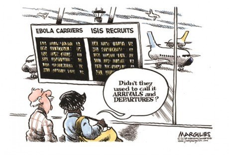 crisis,airport,sad but true,ebola,isis,web comics