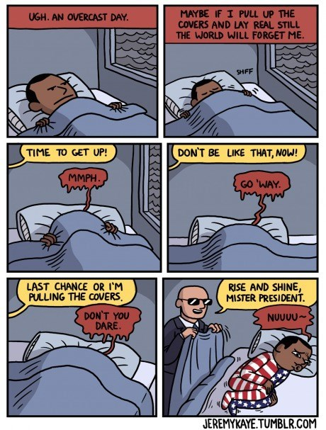 bed barack obama sleeping web comics - 8348681984