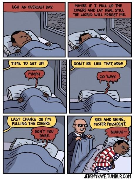 bed barack obama sleeping web comics - 8348681984