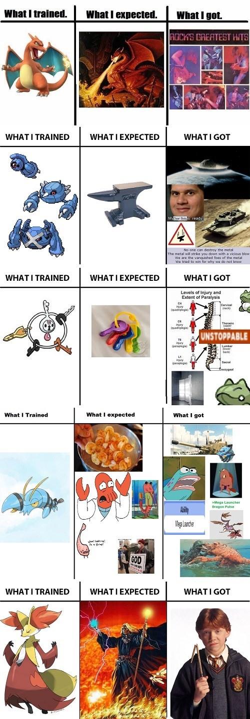 klefki Pokémon expectations vs reality charizard training - 8348813312