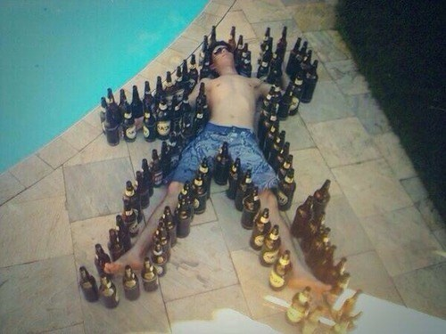 beer drunk passed out funny - 8348992512